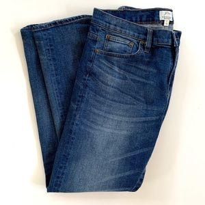 J Crew Slim Broken In Boyfriend Jeans